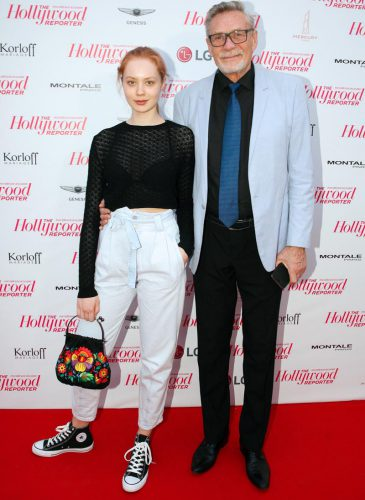 Александр Михайлов с дочерью