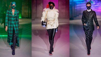 Модная изоляция: защитные маски — новый тренд 2020