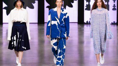 K Titova на Mercedes-Benz Fashion Week Russia, SS 2021