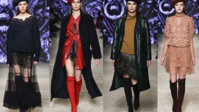 Julia Dalakian на Mercedes-Benz Fashion Week Russia, Fall Winter 2021/22